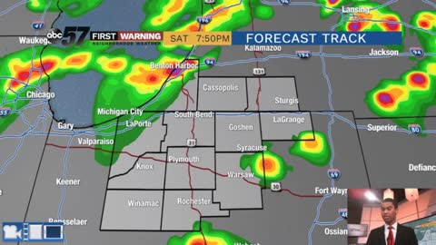 Storms return late today